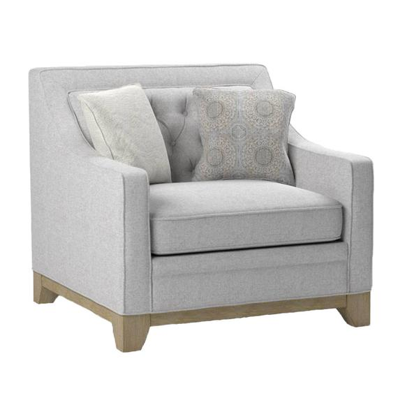 Jaizel Accent Chair, Wickham Gray U3670-02-13
