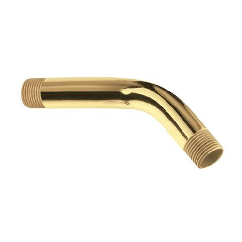 """Moen polished brass 6"""" shower arm"""