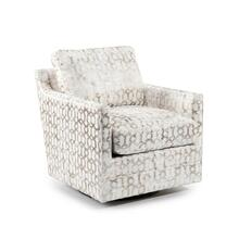 Low-Back Luxury-Arm Swivel Glider Chair