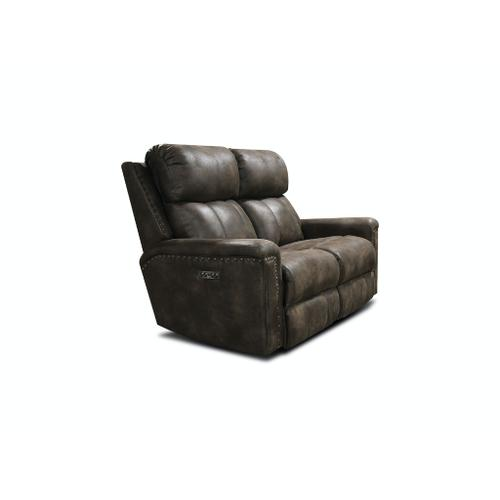 Alexvale - V1C03HN Double Reclining Loveseat with Nails