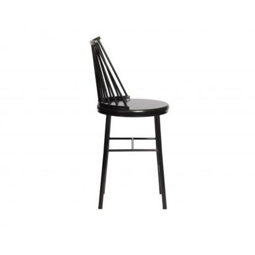 Frida Counter Chair - Black