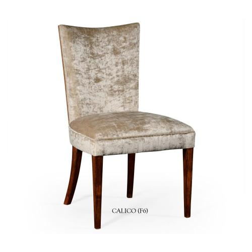 Biedermeier style mahogany dining side chair