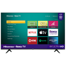 "55"" Class - R6070 Series - 4K UHD Smart Hisense Roku TV (2020) SUPPORT"