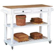 Product Image - Cottage Kitchen Island / Cart - White