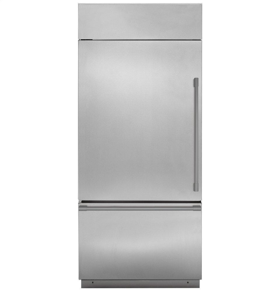 "MonogramMonogram 36"" Built-In Bottom-Freezer Refrigerator"