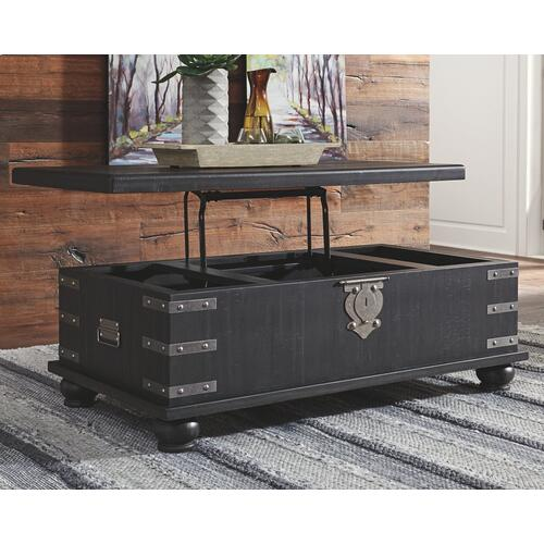 Signature Design By Ashley - Delmar Coffee Table With Lift Top