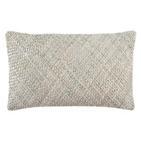 Shelby Cowhide Pillow - White