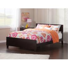 View Product - Orlando Full Bed with Matching Foot Board in Espresso