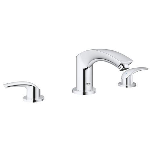 Eurosmart 3-hole 2-handle Deck Mount Roman Tub Faucet