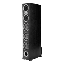 High performance floorstanding loudspeakers in Black