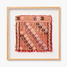 0321330010 Vintage Rug Fragment Wall Art