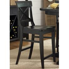 View Product - X Back Counter Chair