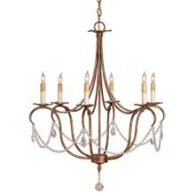 View Product - Crystal Lights Gold Small Chandelier