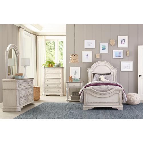 Blair Youth 6-Drawer Dresser, White