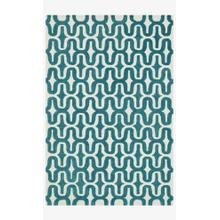 View Product - Hws09 Ivory / Teal Rug