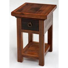 See Details - Glacier Bay - Deerbourne 1 Drawer Nightstand With Shelf