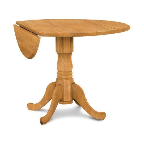 Dropleaf Pedestal Table
