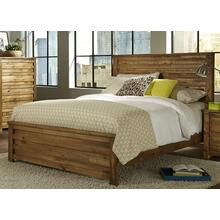 6/6 King Headboard - Driftwood Finish
