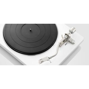 Belt-driven Turntable with S-Shape Tone Arm in White