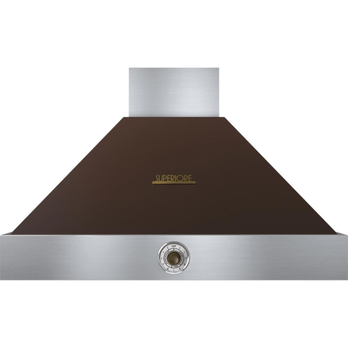 Hood DECO 36'' Brown matte, Bronze 1 blower, analog control, baffle filters