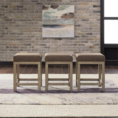 Uph Console Stools (3 Piece Set)