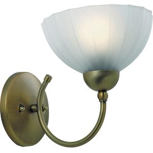 Wall Lamp, Bronze W/frost Glass, 60w/a Type