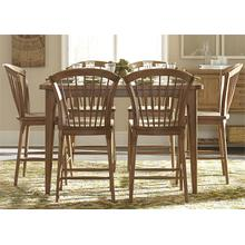 View Product - 7 Piece Gathering Table Set