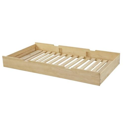 Trundle Bed Frame Only (excl. Slat Roll) : Natural