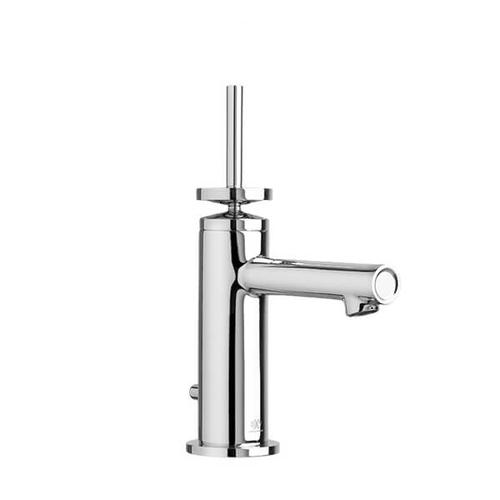 Percy Single Handle Bathroom Faucet with Stem Handle - Polished Chrome