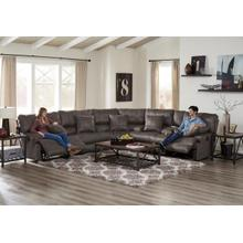 "Monaco 3PC ""Lay Flat"" Reclining Sectional"
