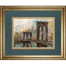 """""""Manhattan Memories"""" By Ruane Manning Framed Print Wall Art"""