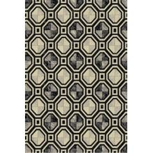 Durable Flat Weave No Shedding Lifestyle 700 Area Rug by Rug Factory Plus - 2' x 3' / Gray