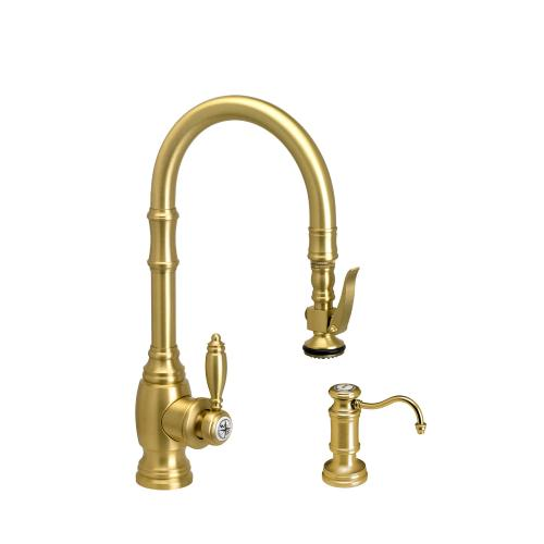 Traditional Prep Size PLP Pulldown Faucet 2pc Suite - 5200-2 - Waterstone Luxury Kitchen Faucets