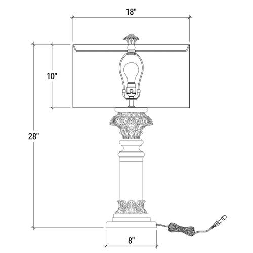 Gallery - Althorp Table Lamp