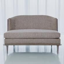 X Back Loveseat-Erwin Fog