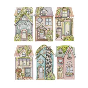 Spring Street Homes - Lg (6 pc. ppk.)