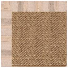 "Islamorada-Herringbone Sicily Sparrow - Rectangle - 24"" x 36"""