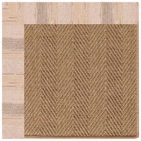 "Islamorada-Herringbone Sicily Sparrow - Rectangle - 24"" x 36"""