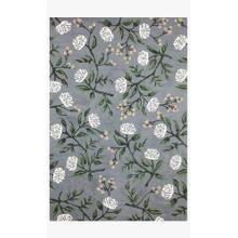 View Product - JOI-03 RP Peonies Dusty Blue Rug