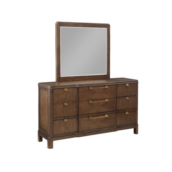 See Details - Milan 2-Piece Dresser & Mirror