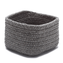 "Natural Shelf Storage Basket AT32 Dark Gray 11"" X 8"""
