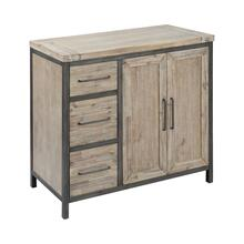 Cork County 2-door 3-drawer Cabinet