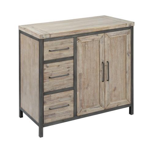 Cork County 2-door 3-drawer Cabinet
