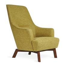Hilary Chair Bayview Dandelion / Walnut