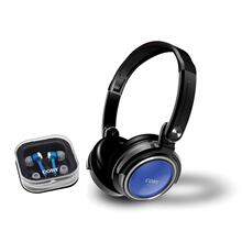 2 in 1 Combo Deep Bass Stereo Headphones & Earphones