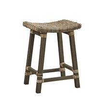 Country Woven Kubu Counter Stool