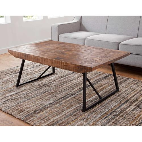 Walden Parquet Sofa Table