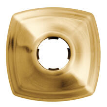Moen Brushed gold shower arm flange