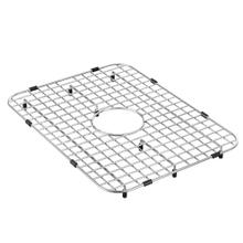 "Moen Stainless Steel Center Drain Bottom Grid Accessory fits 21"" x 16"" Sink Bowls"
