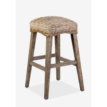 Leigh Rattan Bar Stool - K/D (MOQ 2)..18X18X30 (package: 2pcs/box) price is per piece